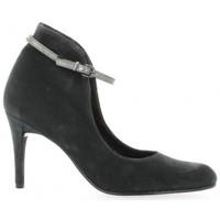 Chaussures Femme Escarpins Elizabeth Stuart Escarpins cuir velours Anthracite