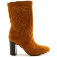 Chaussures Femme Bottes ville Chie Mihara ERUM Marron