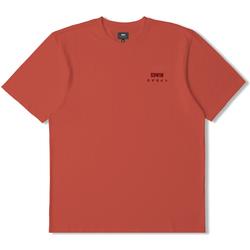 Vêtements T-shirts manches courtes Edwin T-shirt  logo rouge