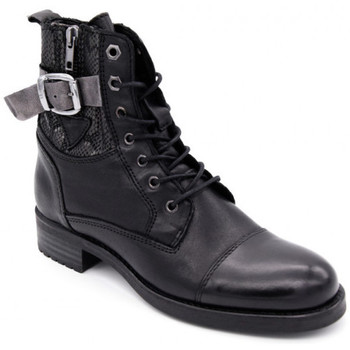 Chaussures Femme Boots Coco & Abricot calliope Noir