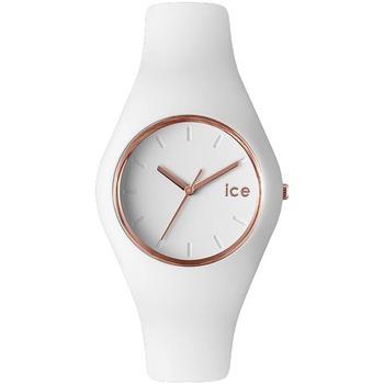 Montres & Bijoux Femme Montres Analogiques Ice Watch Montre  en Silicone Blanc Blanc
