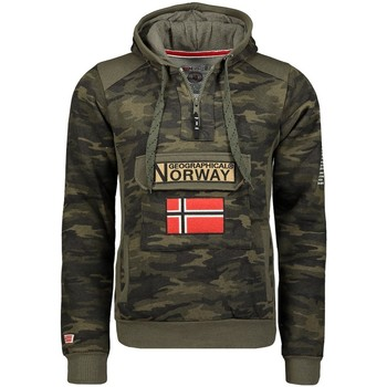 Vêtements Homme Sweats Geographical Norway Sweat Homme Gymclass Camo New Kaki