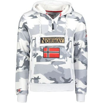 Vêtements Homme Sweats Geographical Norway Sweat Homme Gymclass Camo New Gris