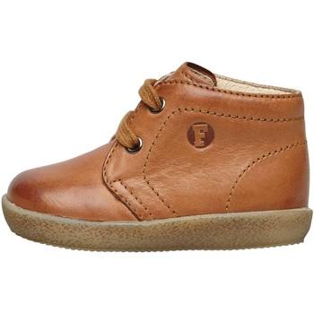 Chaussures Enfant Boots Falcotto CONTE-à lacet beige