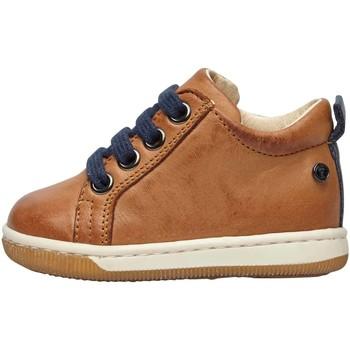 Chaussures Garçon Baskets basses Falcotto HALEY-Sneaker aus Nappaleder mit rutschfester Sohle beige