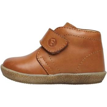 Chaussures Garçon Boots Falcotto CONTE VL-chaussure en nappa avec velcro® beige