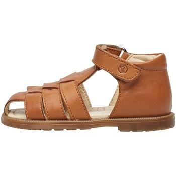 Chaussures Garçon Sandales et Nu-pieds Falcotto CEDRIC-sandale en cuir de veau marron
