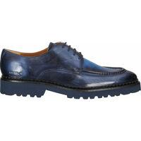 Chaussures Homme Derbies Melvin & Hamilton Derbies Blau/Grau