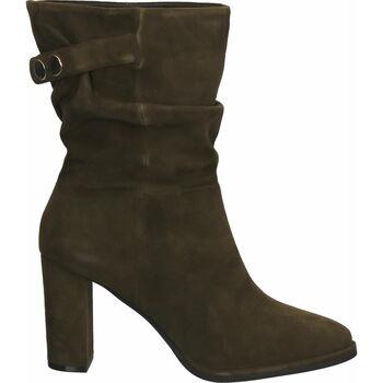 Chaussures Femme Bottes ville Steven New York Bottines Khaki