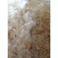 Maison & Déco Tapis Unamourdetapis Tapis shaggy poils long Sg Fin Crème 160x230 cm Crème
