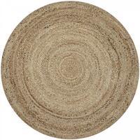 Maison & Déco Tapis Unamourdetapis Tapis kilim Jt Sunny Day Beige 60x60 rond cm Beige