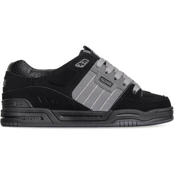 Chaussures Homme Chaussures de Skate Globe FUSION black charcoal split Noir