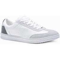 Chaussures Homme Baskets basses Monsieurmode Basket tendance homme Basket 373 blanc Blanc