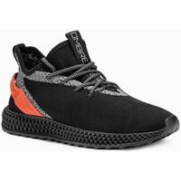 Chaussures Homme Baskets basses Monsieurmode Basket fashion pour homme Basket 371 noir Noir