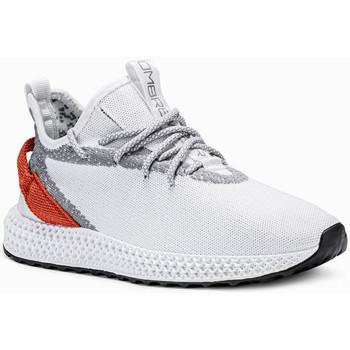 Chaussures Homme Baskets basses Monsieurmode Basket homme fashion Basket 371 blanc Blanc