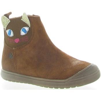 Chaussures Femme Bottines Acebo's 3159 Marron