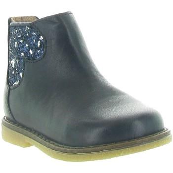 Chaussures Femme Bottines Acebo's 3202 Bleu