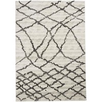 Maison & Déco Tapis Unamourdetapis Tapis design et moderne Naillifo Blanc 60x110 cm Blanc
