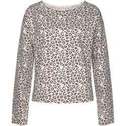 Vêtements Femme Sweats Lascana Sweat shirt Loungewear Leopard