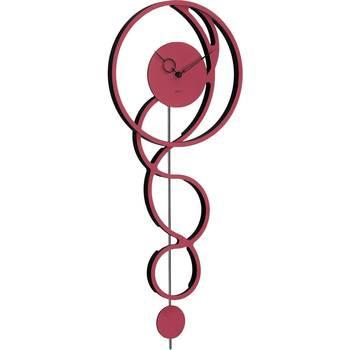 Maison & Déco Horloges Hermle 61023-362200, Quartz, Red, Analogue, Modern Rouge