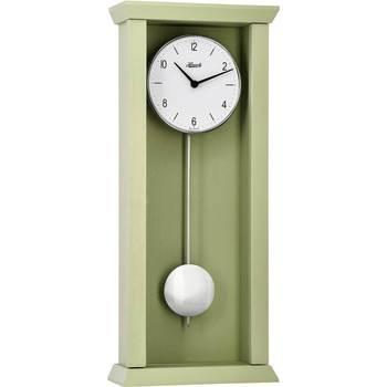 Maison & Déco Horloges Hermle 71002-U70141, Quartz, White, Analogue, Rustic Blanc