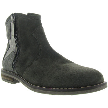 Chaussures Fille Bottines Reqin's MICHELLE Vert