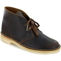 Chaussures Homme Boots Clarks DESERT BOOT 2 H BEESWAX 2