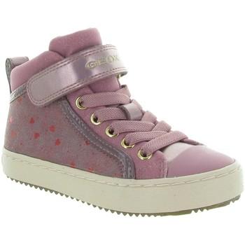 Chaussures Fille Baskets montantes Geox J744GI KALISPERA GIRL Rose