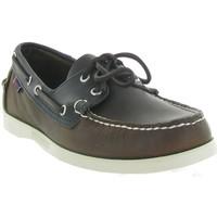 Chaussures Homme Chaussures bateau Sebago DOCKSIDES MAPPLE Marron