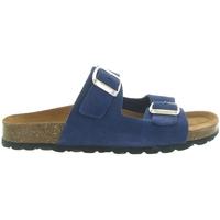 Chaussures Femme Mules La Maison De L'espadrille 3524 Bleu