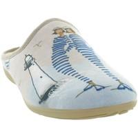 Chaussures Femme Chaussons La Maison De L'espadrille 2028 Beige