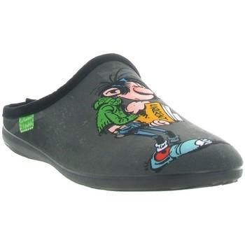 Chaussures Homme Chaussons La Maison De L'espadrille G510 GASTON LA GAFFE Gris