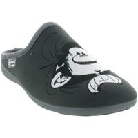 Chaussures Homme Chaussons La Maison De L'espadrille G500 GASTON LAGAFFE Gris
