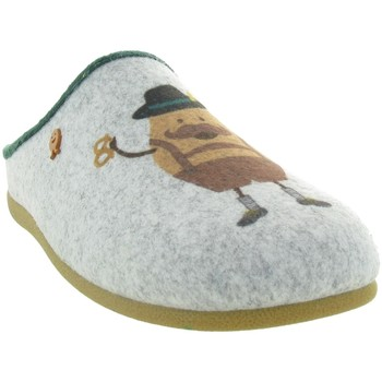 Chaussures Homme Chaussons Hot Potatoes 61066 GARESNICA Gris