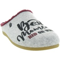 Chaussures Femme Chaussons Hot Potatoes 64629 DROSING Gris