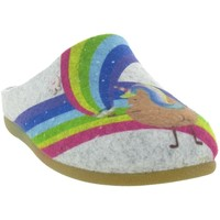 Chaussures Fille Chaussons Hot Potatoes 64639 LAMBACH Gris