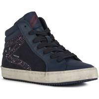 Chaussures Fille Baskets montantes Geox J044GB KALISPERA Bleu