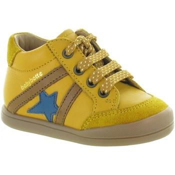 Chaussures Garçon Baskets basses Babybotte FERGUS Jaune