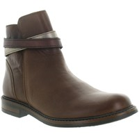 Chaussures Fille Bottines Bellamy ETIK Marron