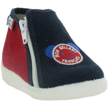 Chaussures Garçon Chaussons bébés Bellamy MIRO Bleu