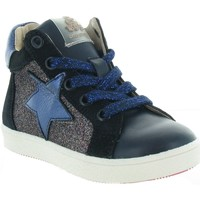 Chaussures Fille Baskets montantes Acebo's 5540 Bleu