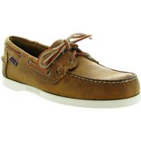 Chaussures Homme Chaussures bateau Sebago DOCKSIDES PORTLAND CRAZY Marron