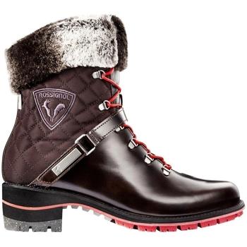 Chaussures Femme Bottes de neige Rossignol MEGEVE 1907 Marron