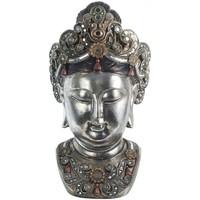 En vous inscrivant vous bénéficierez de tous nos bons plans en exclusivité Statuettes et figurines Zen Et Ethnique Grande Statue en résine tête Bouddha 60 cm Argenté