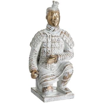 En vous inscrivant vous bénéficierez de tous nos bons plans en exclusivité Statuettes et figurines Zen Et Ethnique Statuette Soldat de l'Empereur Qin Blanc