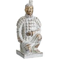 En vous inscrivant vous bénéficierez de tous nos bons plans en exclusivité Statuettes et figurines Zen Et Ethnique Statuette Soldat de l'Empereur Qin 17 cm Blanc