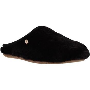 Chaussures Femme Chaussons Hot Potatoes 60903G Noir