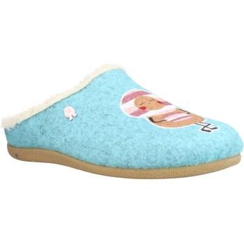 Chaussures Fille Chaussons Hot Potatoes 64641G Bleu