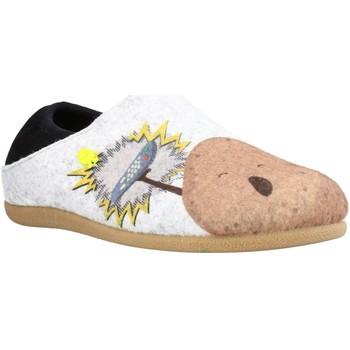 Chaussures Garçon Chaussons Hot Potatoes 64662G Gris