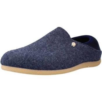 Chaussures Homme Chaussons Hot Potatoes 61073G Bleu